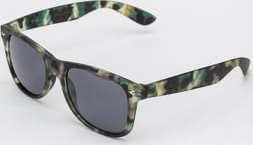 Urban Classics Sunglasses Likoma UC camo zelené / černé