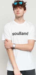 Soulland Chuck Tee bílé