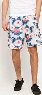 Stüssy Tie Dye Sport Short bílé / navy / červené