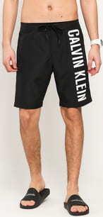 Calvin Klein Boardshort černé / bílé