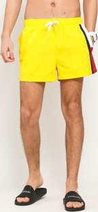 Tommy Hilfiger Short Drawstring žluté / červené / bílé