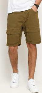 Urban Classics Performance Cargo Shorts olivové 38