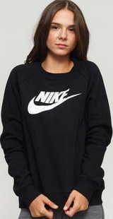 Nike W NSW Essential Crew Fleece HBR černá