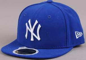 New Era Kids MLB League Basic NY C/O modrá 6 3/4 (54 cm)