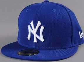 "New Era MLB Basic NY ""S"" modrá / bílá 7 1/2 (59.6 cm)"