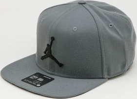 Jordan Pro Jumpman Snapback šedá / černá