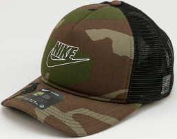Nike U NSW CLC99 Cap Camo Trucker camo zelená