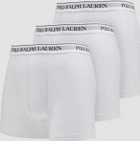 Polo Ralph Lauren 3Pack Stretch Cotton Boxer Briefs C/O bílé