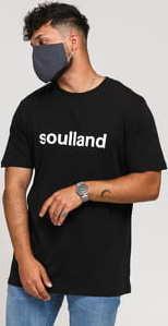 Soulland Chuck Tee černé