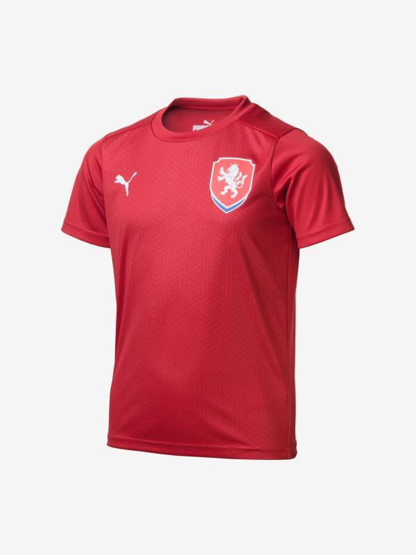 Tričko Puma Facr Home Shirt B2B Jr Červená