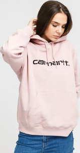 Carhartt WIP W Hooded Carhartt Sweat světle růžová