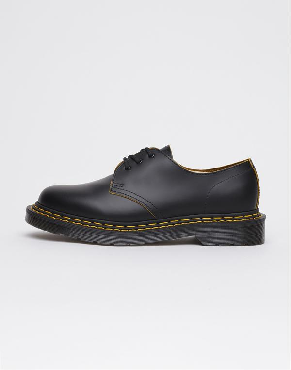 Dr. Martens 1461 DS Black+Yellow 42