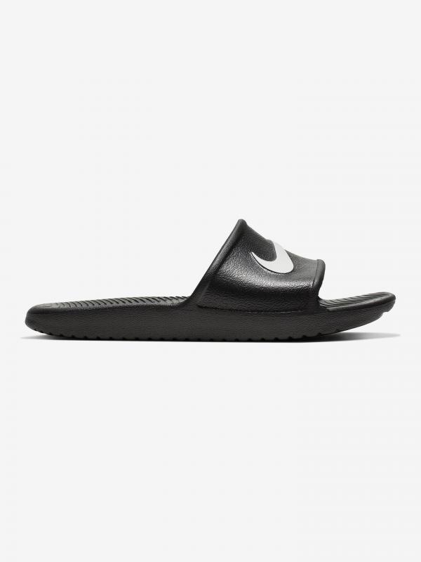 Kawa Pantofle dětské Nike Černá