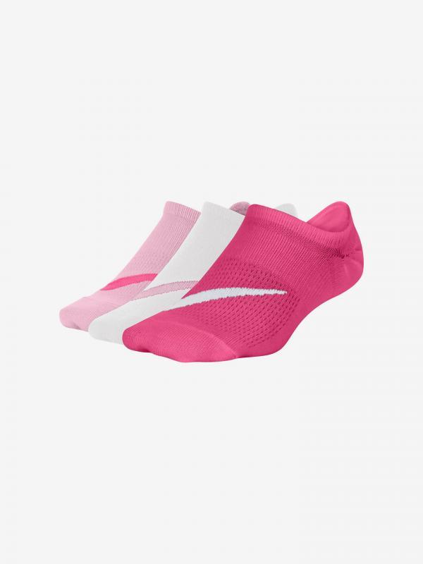 Everyday Ponožky dětské 3 páry Nike Bílá