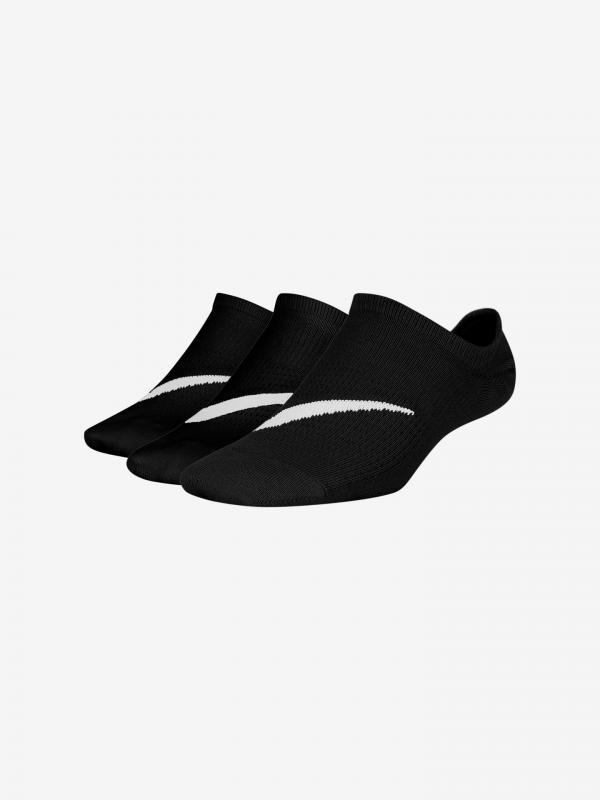 Everyday Ponožky dětské 3 páry Nike Černá