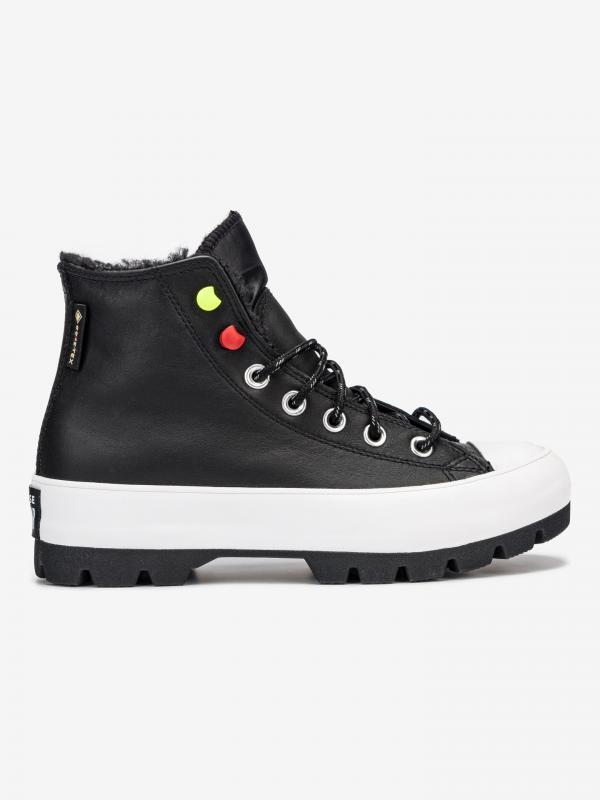 Chuck Taylor All Star Lugged Kotníková obuv Converse Černá