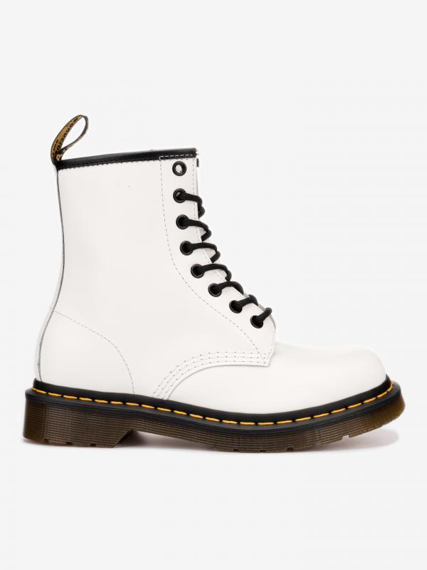 1460 Kotníková obuv Dr. Martens Bílá