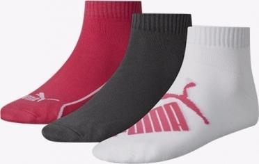 PUMA Ponožky PUMA GRAPHIC QUARTER 3 PACK 906805 02
