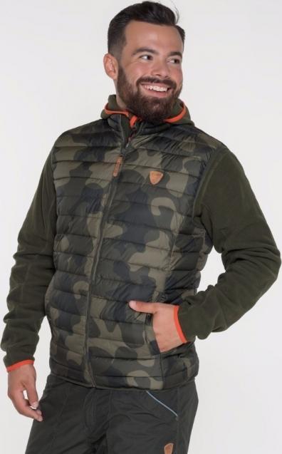 SAM 73 Pánská vesta v army stylu MB 709 380