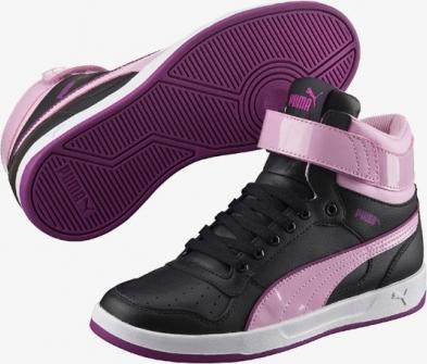 PUMA Dívčí boty Puma Liza Mid Dazz 361471 01