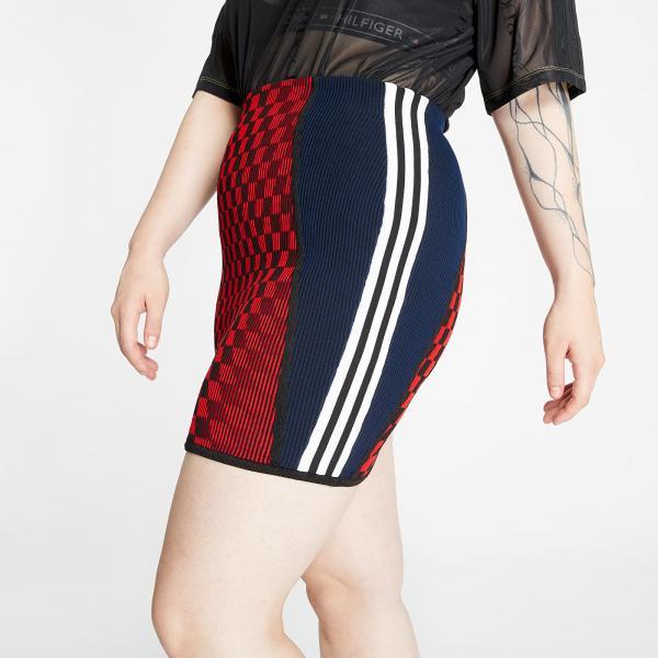 adidas Mini Skirt Scarlet/ Black/ Active Gold