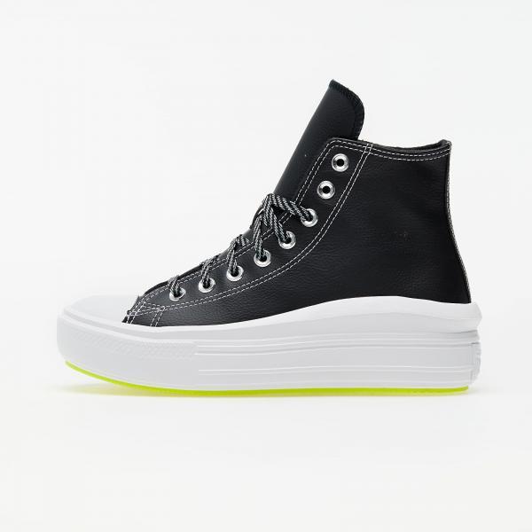 Converse Chuck Taylor All Star Move Hi Black/ Lemon Venom/ White