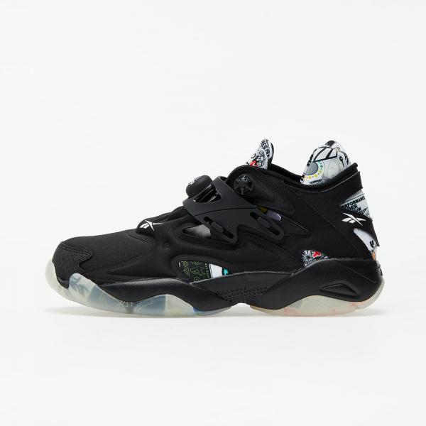 Reebok Pump Court Black/ Black/ Black