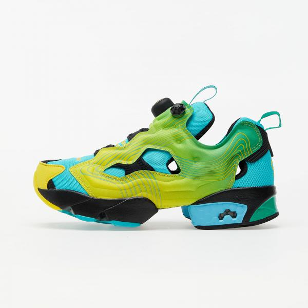 Reebok Instapump Fury Emerald/ Ale Yellow/ Glam Blue