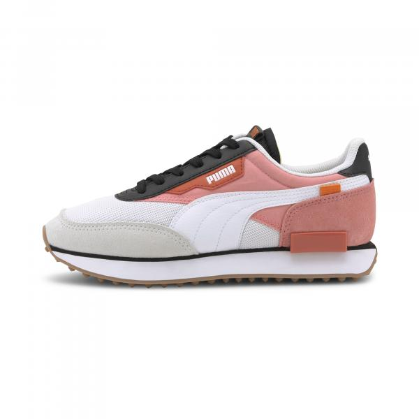Puma Future Rider New Tones Puma White-Salmon Rose