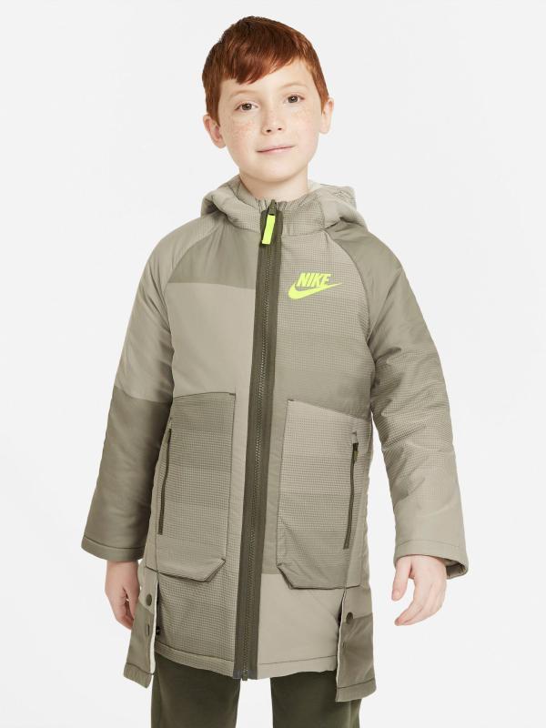 Sportswear Parka dětská Nike Zelená