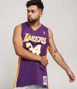 Mitchell & Ness NBA Swingman Jersey LA Lakers Shaquille O