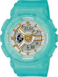 Casio Baby-G BA 110SC-2AER tyrkysová