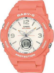 Casio Baby-G BGA 260-4AER lososové
