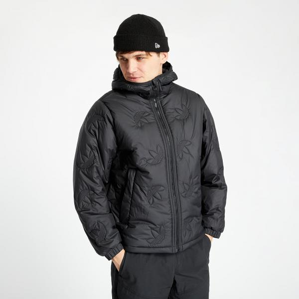 adidas Trefoil Rpt Puffer Jacket Black