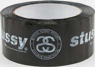 Stüssy Italic Link Packing Tape černá