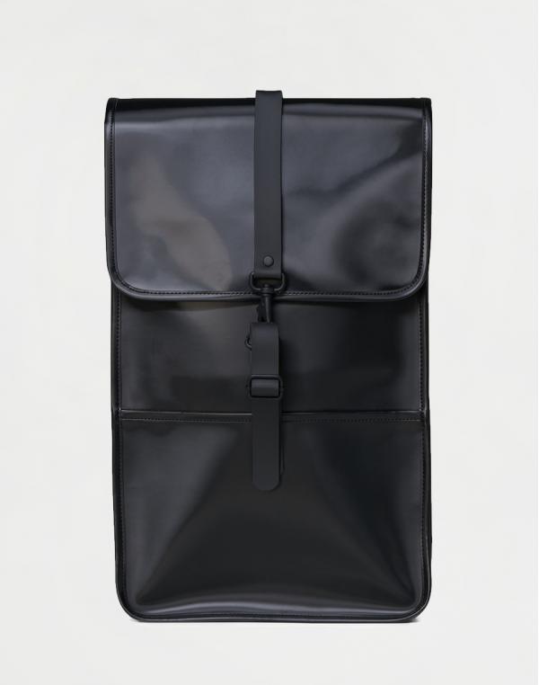 Rains Backpack 76 Shiny Black