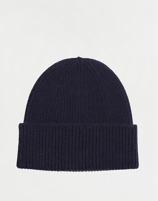 Colorful Standard Merino Wool Hat Navy Blue