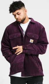 Carhartt WIP Corduroy Whitsome Shirt Jacket fialová