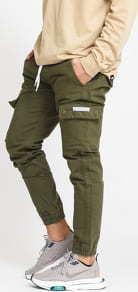 Mass DNM Cargo Jogger Pants olivové 32