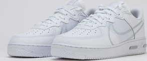 Nike Air Force 1 React white / pure platinum