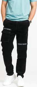 Daily Paper Corduroy Cargo Pants černé