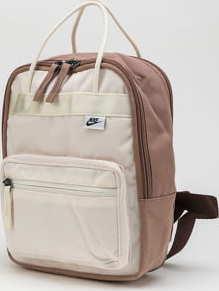 Nike NK Tanjun Backpack - Mini krémový / béžový / hnědý
