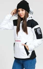 Columbia Challenger Pullover Jacket bílá / černá