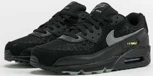 Nike Air Max 90 black / smoke grey - limelight