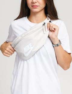 Nike NK Heritage Hip Pack krémová