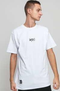 Mass DNM Signature Small Logo Tee bílé