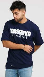 Mass DNM Classics Tee navy