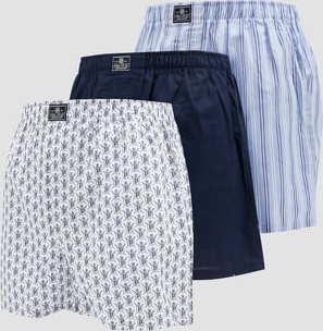 Polo Ralph Lauren 3Pack Cotton Classic Boxers navy / modré / bílé