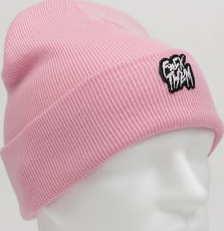 F*CK THEM Beanie růžový