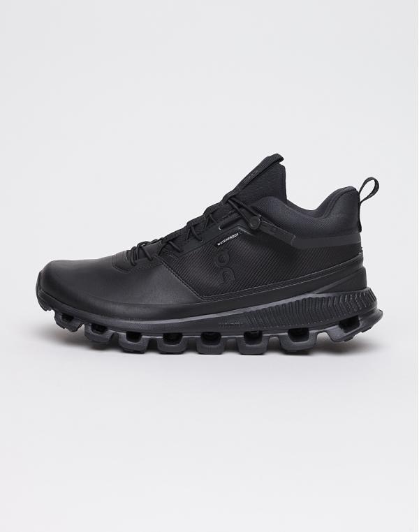 On Running Cloud Hi Waterproof All Black 42,5